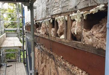Asbestos Wall Removal